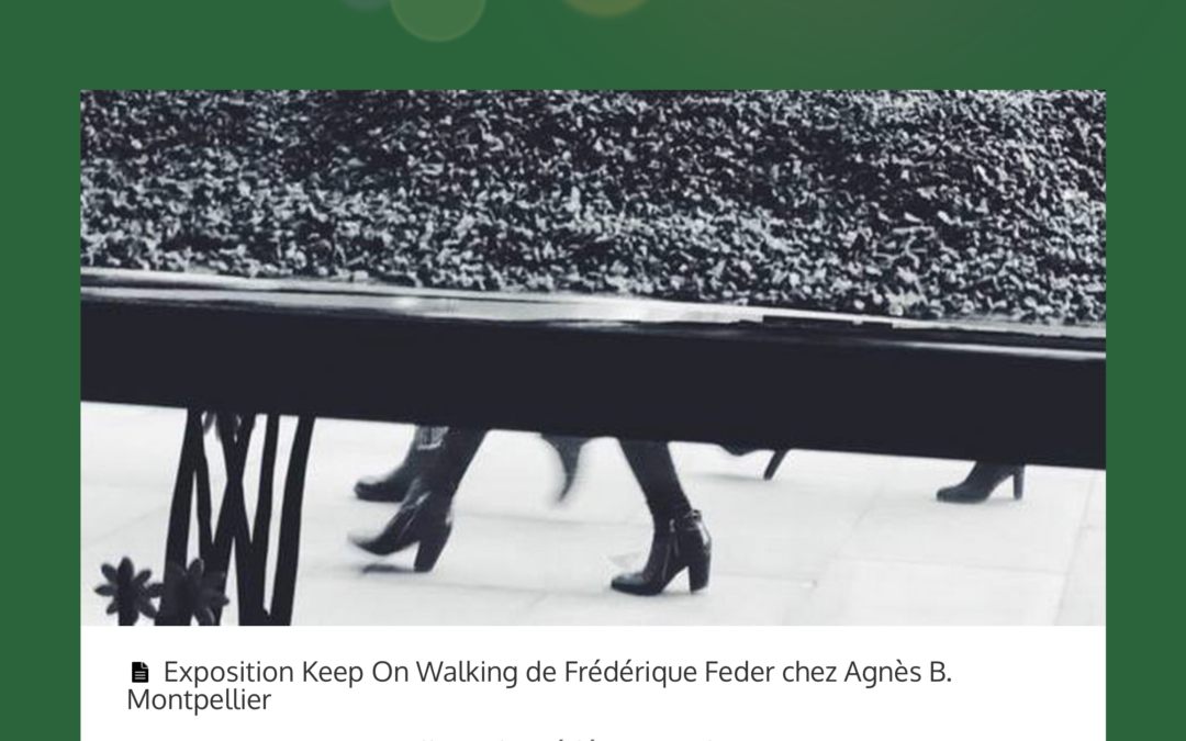 Keep on Walking at Agnes b